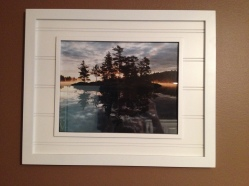 Framed Island Sunrise