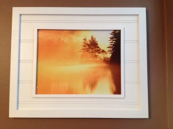 Framed Fiery Sunrise